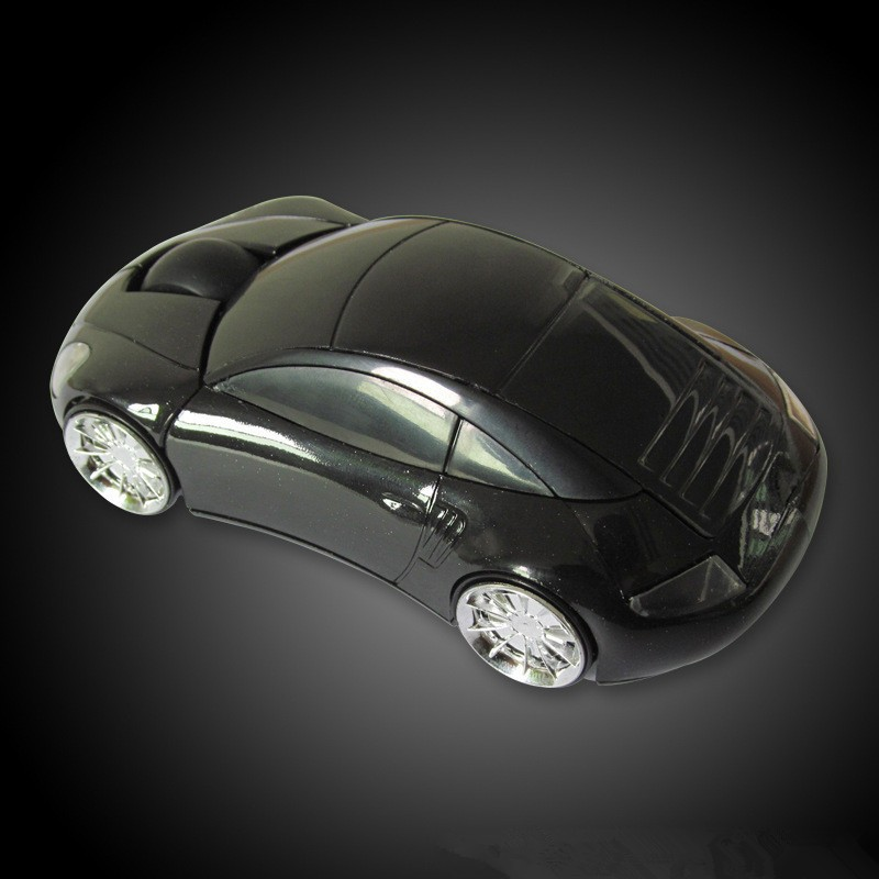 Car USB Optical 2.4Ghz Wireless Mouse Gaming Mice (1)