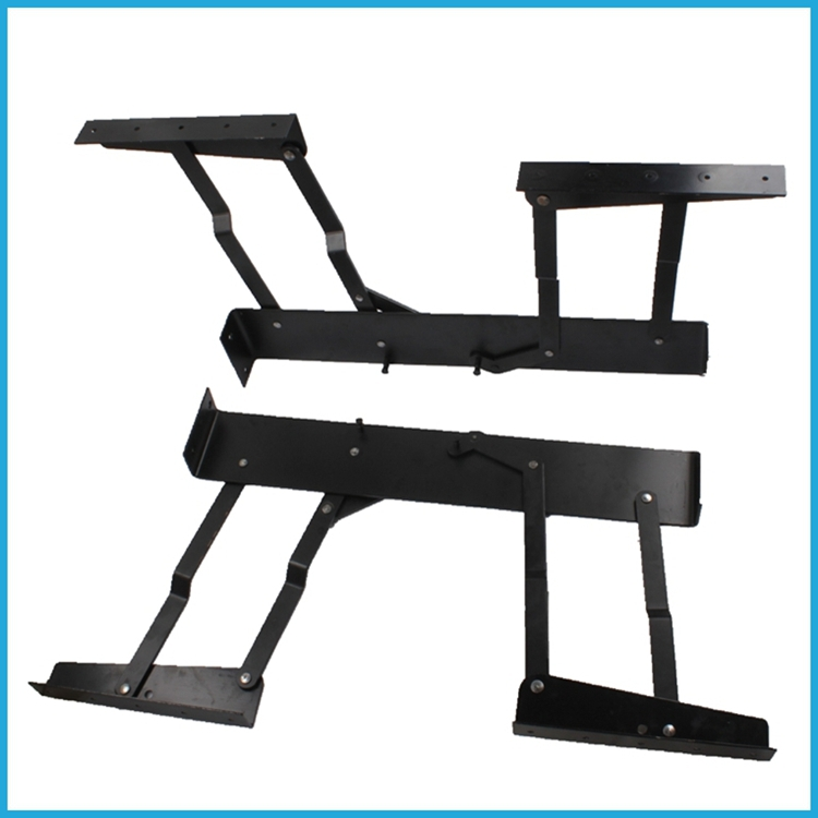 modern design mdf folding coffee table funiture hardware fittings,metal frames for office desk(China (Mainland))