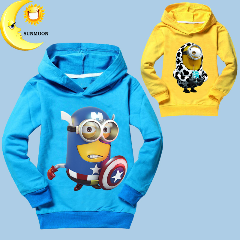 New 2016 boys t shirts despicable me kids clothes minion new fashion children long sleeve tops tees brand girls clothing t-shirt<br><br>Aliexpress
