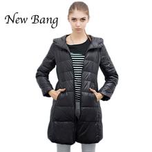 Chaquetas de invierno ultra ligera para Mujeres con capucha