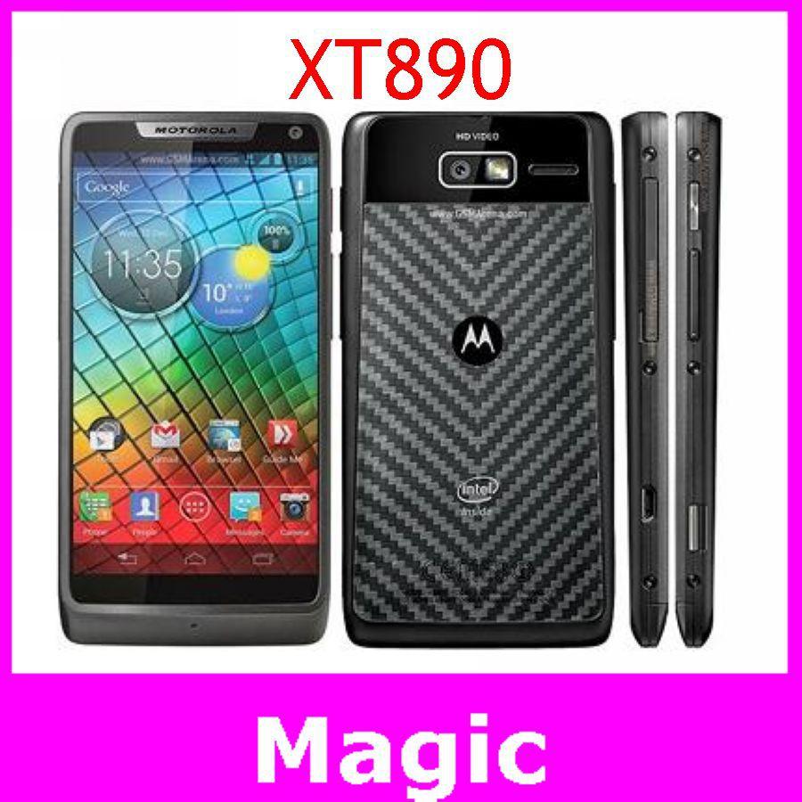 Мобильный телефон Motorola XT890 Android 4.0 4,3 8GB 8MP Bluetooth 4.0 GPS 3G новый телефон gps 8mp 2015 68 из четырехъядерных android есть телефон v12 большой аккумулятор сотового телефона для a8 h5