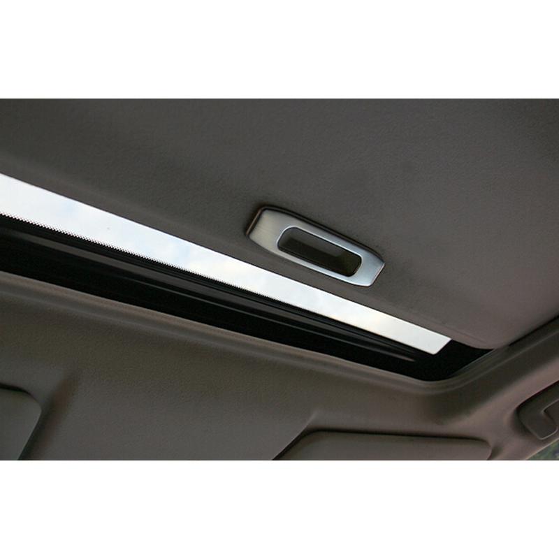 car interior roof handle cover trim for mitsubishi outlander 2013 2014 in interior mouldings. Black Bedroom Furniture Sets. Home Design Ideas