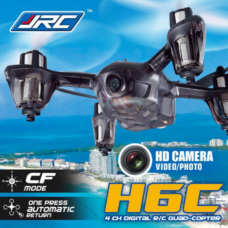 JJRC H6C 4 Channel 6 Axis Gyro 2.4G RC Quadcopter 2MP Camera Mode2 Helicopter 360 Degree Eversion Function LED Light - Retail & Store store