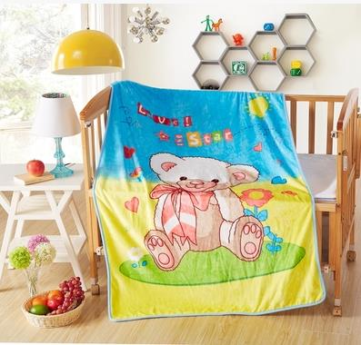 baby flannel fabric cartoon blanket 2 layers thickening soft child baby blanket autumn winter season 100x140cm 600g 003<br><br>Aliexpress