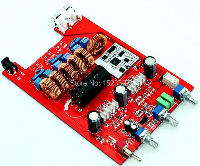 18-24vdc TPA3116 2.1 Bluetooth amplifier board 2*50W+100W