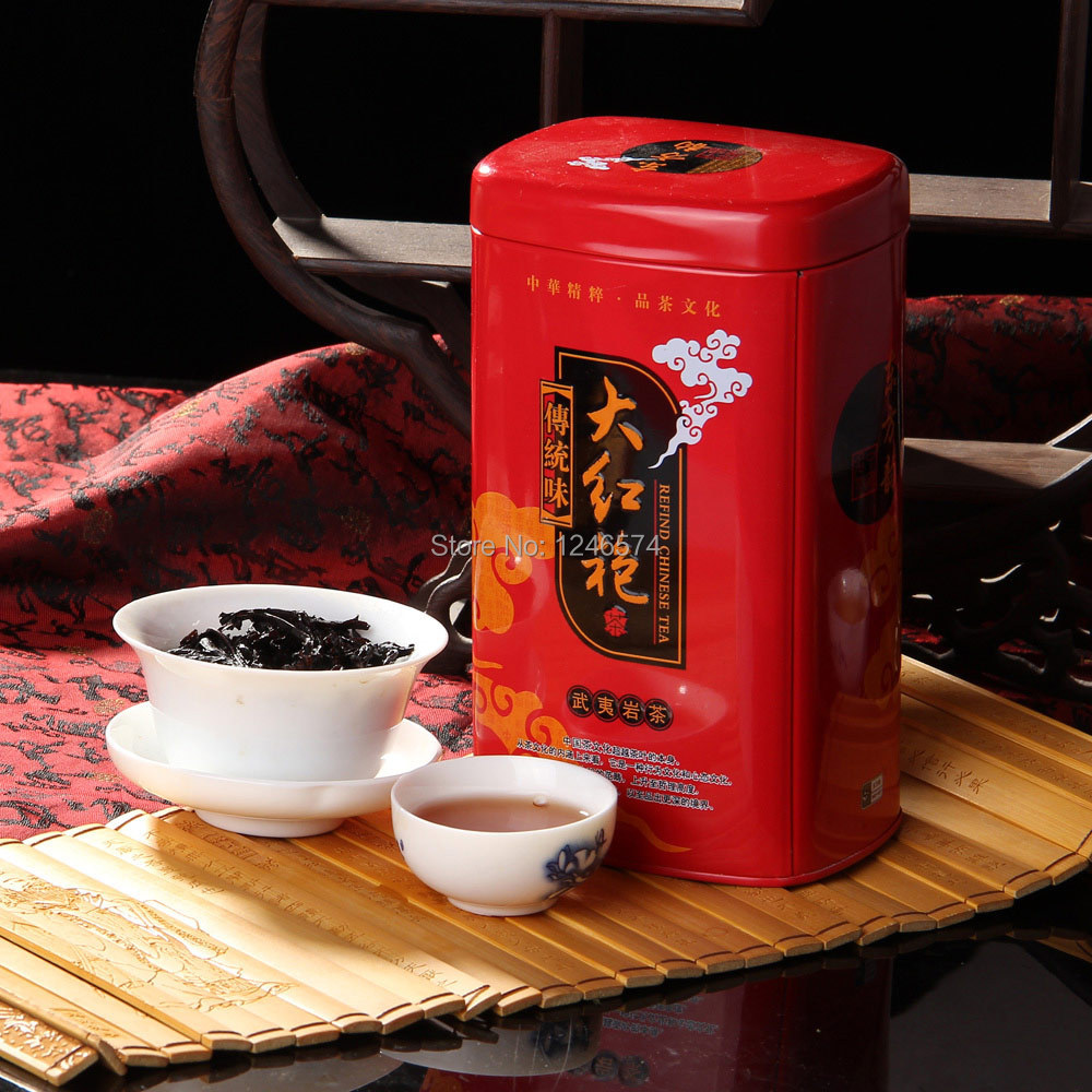 60g Chinese Wuyi Da Hong Pao Big Red Robe Oolong Tea Original Gift China Healthy Care Dahongpao Tea+ - Share-life store