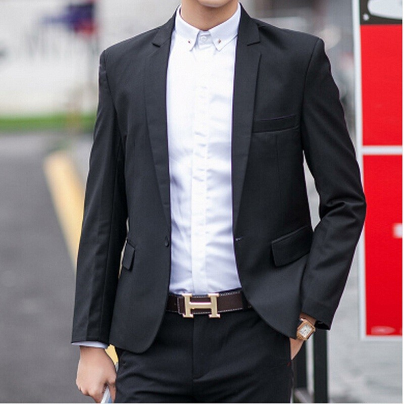 HTB1 gseKFXXXXc.XFXXq6xXFXXXE - Hot!Free Shipping 2017 New Year Special a buckle multicolor classic casual men's suits blazer men men blazer M_XXXL