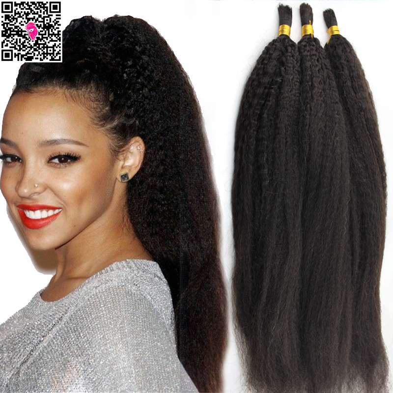 Crochet Hair Human : Crochet Braids With Straight Human Hair Popular kinky yaki hair for ...