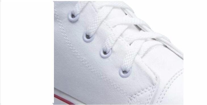 Sıcak Yeni Danteller 2016Up kanvas ayakkabılar platformu rahat ayakkabılar PUNK kadınlar Kaya Çizmeler beyaz siyah moda Diz Yüksek kadınlar öğrenci ayakkabı