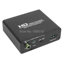 Hdmi к кабелю DVI коаксиальный аудио конвертер с адаптером питания для Ps / xbox360, / синий ray dvd, / HD телеприставки бесплатная доставка