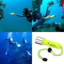 Underwater 2000LM CREE XM-L T6 LED Diving Flashlight Torch Lamp 60M Waterproof(China (Mainland))