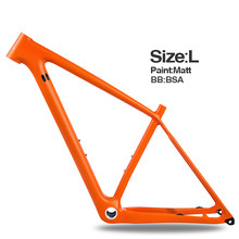 Livraison gratuite nouveau BOOST carbone cadre de vélo 148*12mm vtt cadre de vélo UD mat/brillant 29er S/M/L vélo VTT cadre BSA(China)
