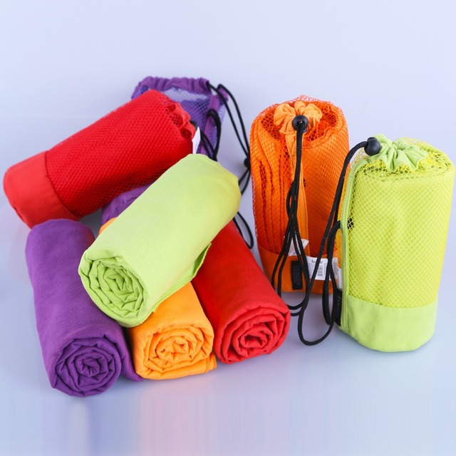 Sports Towel With Carrying Bag