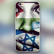Luxury brand Free Palestine Puzzle Design plastic case cover cell phone cases for Apple iphone 4 4s 5 5c 5s 6 6s plus(China (Mainland))