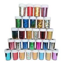 12pcs/lot Nail Art Transfer Foils Stickers Super Beautiful Nail Gel Polish Wrap Mixed Designed Nail Tips Decorations Tools