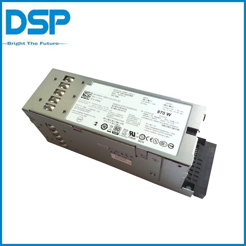 Sale! 7NVX8 07NVX8 870W PSU For Dell PowerEdge T610 R710 Redundant Power Supply(China (Mainland))