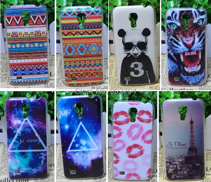 For Samsung Galaxy S4 Mini I9190 Case Aztec Eiffel Tower Lips Tiger Deer Balloon Blocks Panda Case(China (Mainland))