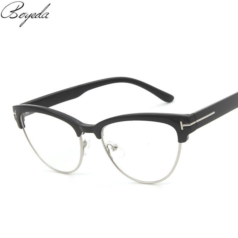 2016 New Luxury Brand Cat Eye Glasses Men Retro Optical Glasses Women Reading Eyeglasses Spectacle Frame Prescription Eyewear(China (Mainland))