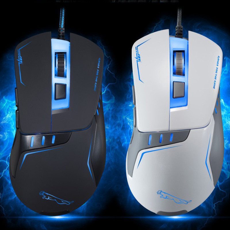 Sensitive 2400 DPI USB Computer Game Mouse Smooth Surface Optical Wired Mouse Mice for Laptop PC Desktop Mouse Ergonomics
