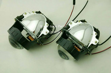 FREE SHIPPING, CHA KOITO-R BI LED PROJECTOR LENS, WITH EXCELLENT LOW BEAM AND HIGH BEAM