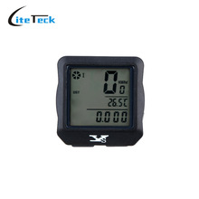 Wireless Bike Computer Bicycle Odometer Speedometer Stopwatch Backlight Backlit Water-resistant Multifunction Bike Accessory(China (Mainland))