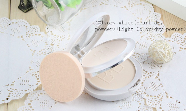 Japan Mingyan Powder Perfect Foundation Daily Party Face MakeUp beauty Whitening Concealer Light&Skin Color dry&Wet Powder(China (Mainland))