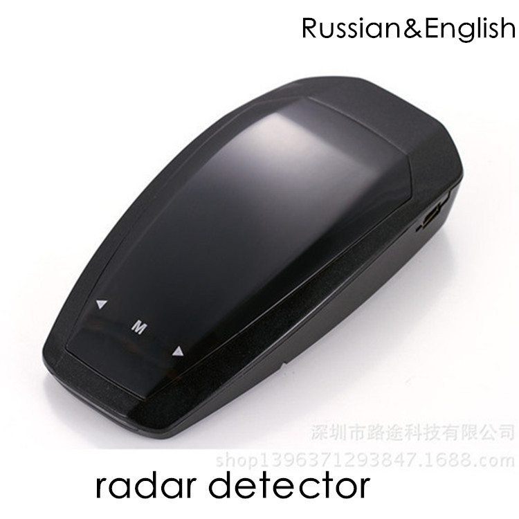 high quality free shipping touchable radar detector for car tracking auto parts car GPS navigation anti police radar detector(China (Mainland))