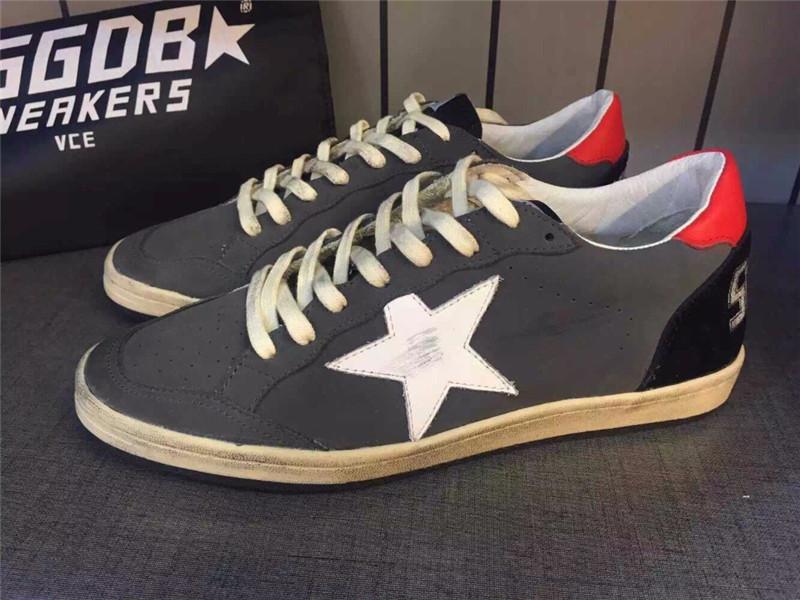 Original Itlay Brand Golden Goose Women Pelle Casual Shoes Supercolor Men Genuine Leather Black Shoes GGDB Scarpe Zapatos Hombre
