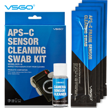APS-C DSLR sensor cleaning swab with liquid cleaner DDR-16