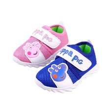 2016 Time-limited New Arrival Fretwork Sapatilha Infantil Toddler Baby Infant Shoes Casual Sandals Sports Net Unisex (China (Mainland))