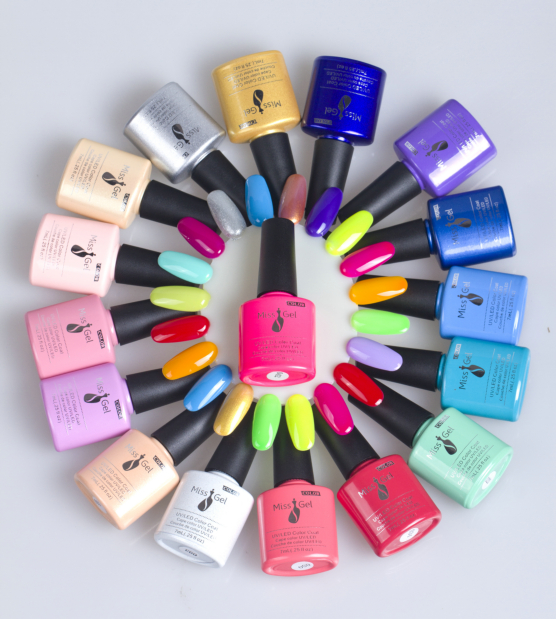 6 pcs/lot salon uv gel China suppliers wholesale health and without odor uv nail gel polish(China (Mainland))