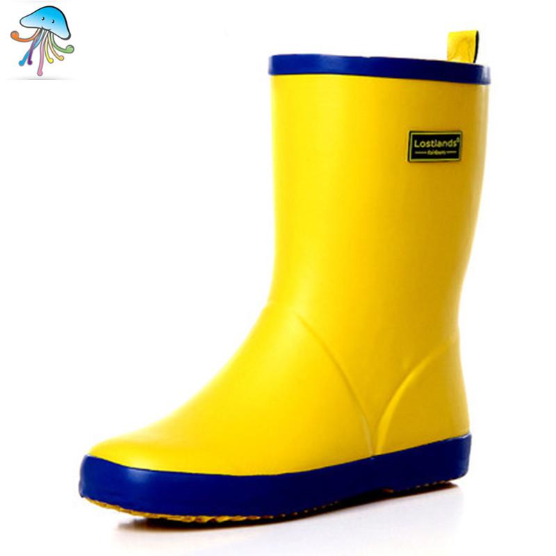 Women  Rainboots  Waterproof Non-slip Fashion Rubber Tube Matte Color Ladies  rainshoes girls rain Boots 4 Color Optional<br><br>Aliexpress