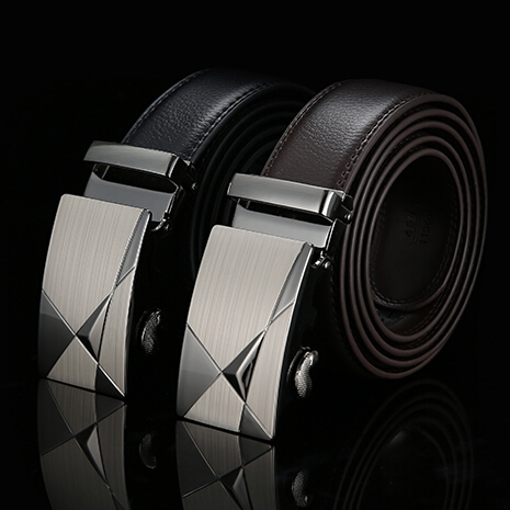 Real Genuine Leather Designer Belts For Men Top Quality Mens Belts Luxury Riem Cinture Uomo Ceintures Pour Hommes De Luxe Marque(China (Mainland))