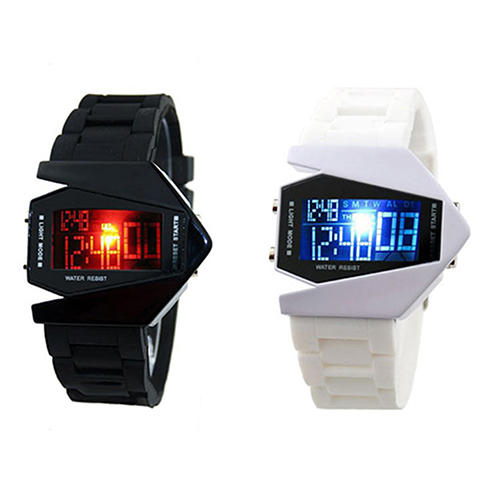 LED Display watches Digital men sports military Oversized watch Back Light women Wristwatches Novelty Sale