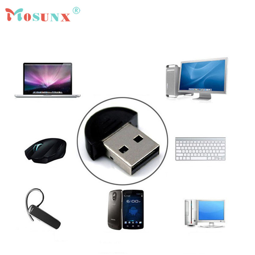 Factory Price Mini USB Bluetooth V2.0 Dongle Adapter for Laptop PC Win Xp Win7 8 iPhone 5GS Headset networking LAN access Z18(China (Mainland))