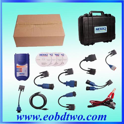 NEXIQ 125032 USB Link + Software Diesel Truck Diagnose Interface and Software NEXIQ truck diagnostic tool(China (Mainland))