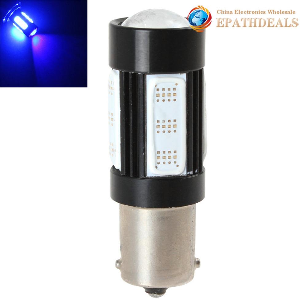 360 Degree 1156 25W COB LED Car Fog Light Bulb 9V - 24V Blue Light Car Daytime Driving Lamps DRL LED Daytime Running Light(China (Mainland))