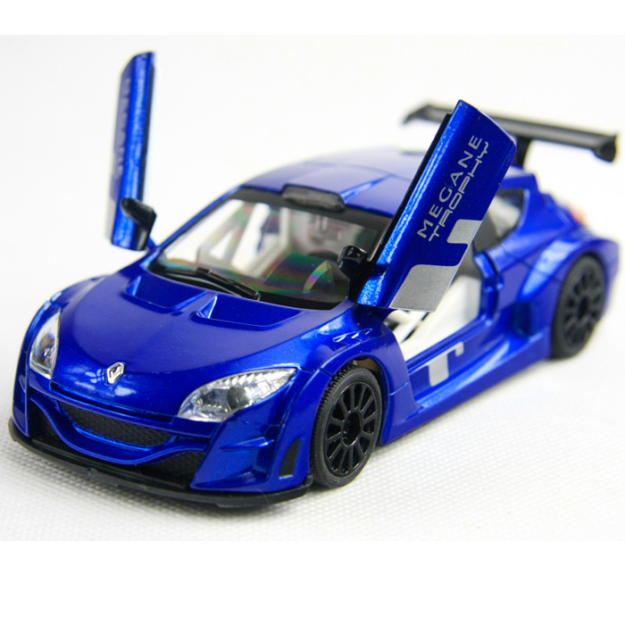 Zm alloy car models WARRIOR car model sports car renault
