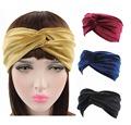 Luxury Velvet Twist Headband Women Earmuffs Earwarmers Noble Scrunchy Twist Hair Band Turban Headbands Bandana Bandage