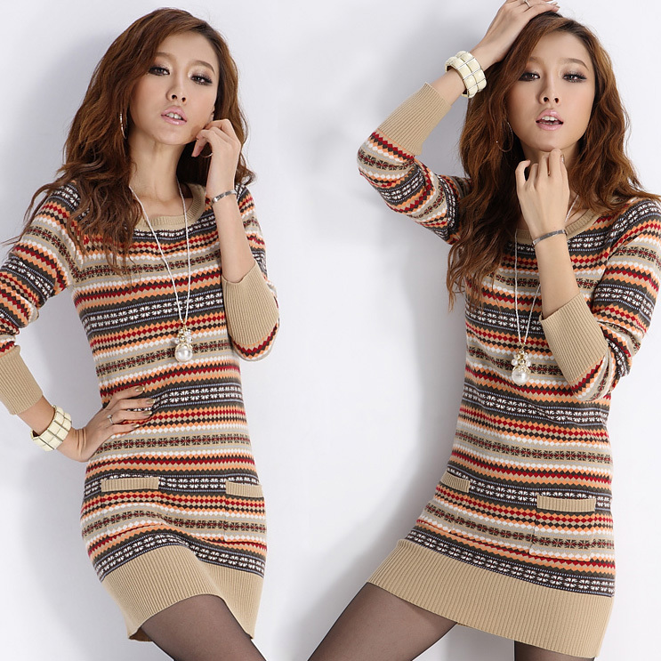 Sweater Dresses For Fall 2014 Autumn and Winter new