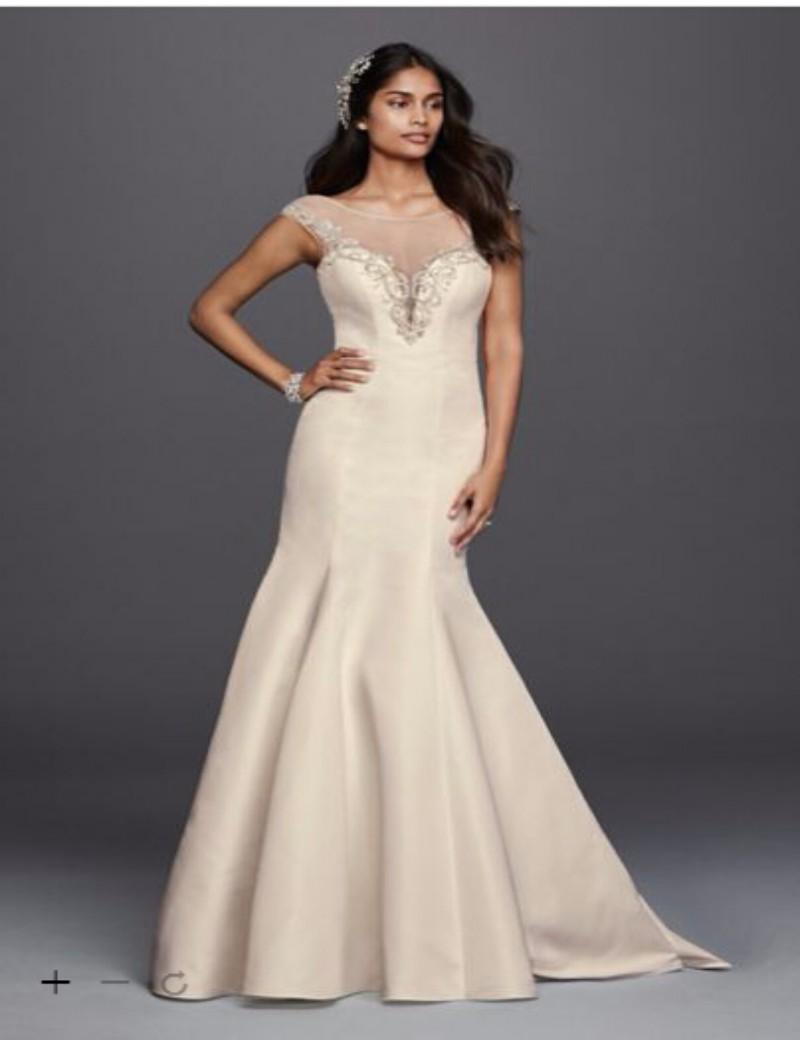Custom Made 2016 New Бесплатная Доставка Русалка Свадебное Платье с Глубоким Вырезом Стиль SWG724 Свадебные Платья