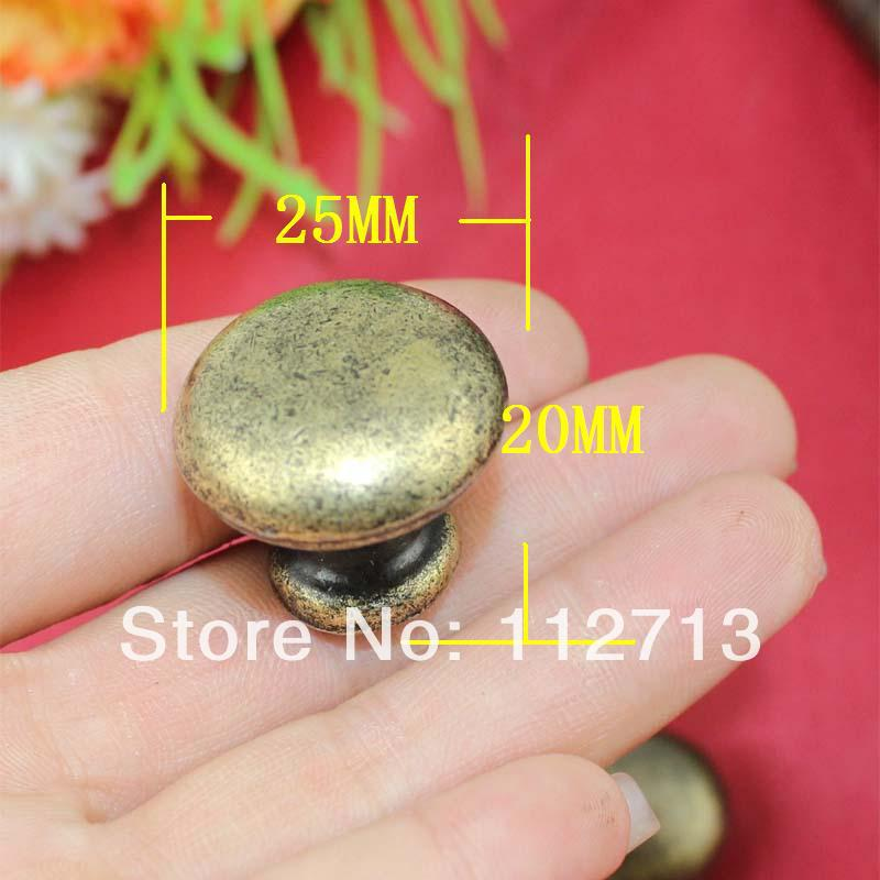 antique jewelry box hardware furniture hardware handle round red cabinet knobs drawer handle mushroom handle hole cheap furniture knobs