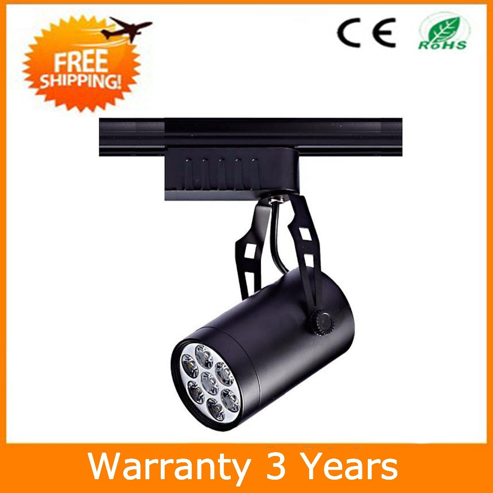7W LED Track Light Spot COB Lighting 10PCS/Lot Thick Housing Bridgelux Chip Warranty 3 Years CE RoHS Free Shipping<br><br>Aliexpress