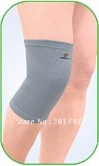 Free Shipping Grey Color knee support knee protector softly ventilation 10pcs/lot(China (Mainland))