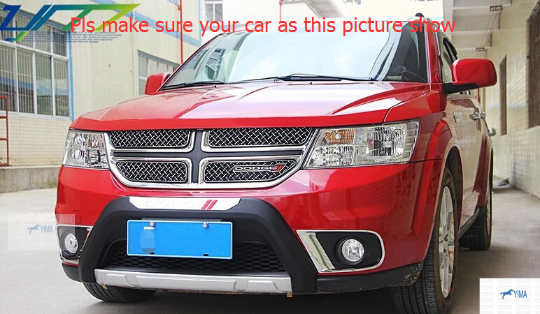 Фотография More Fashion! For Dodge Journey 2013-2014 Honeycomb Style Front Grille Grill Trim 4pcs / set