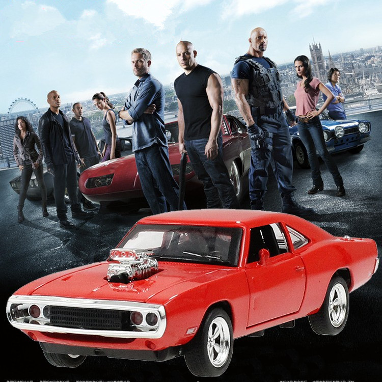 Dodge Charger 1:32 Scale Pull Back Car Model W Sound & Light Fast and Furious Mini Toy Cars oyuncak araba New Year Birthday Gift(China (Mainland))