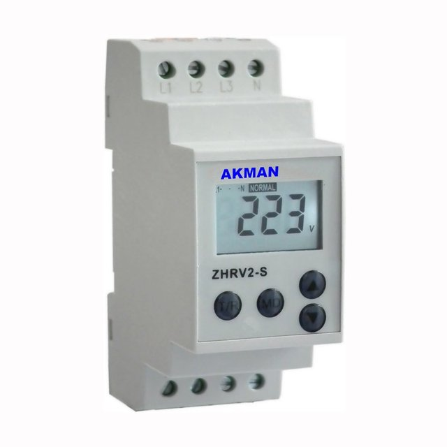 LCD Display Electronic  Motor Voltage protection Relay with multi protective function