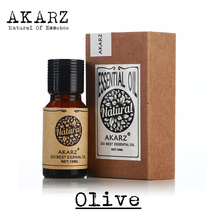 AKARZ Famous brand free shipping pure natural aromatherapy Olive oil Remove wrinkles Sunscreen Nourish skin Protect hair(China (Mainland))