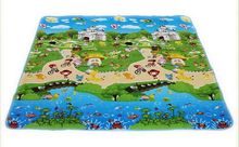 beach Baby toy double-faced foam Play Mat, Letter animal paradise Safety+Gym floor Mat,Kids Climb Blanket 270370(China (Mainland))