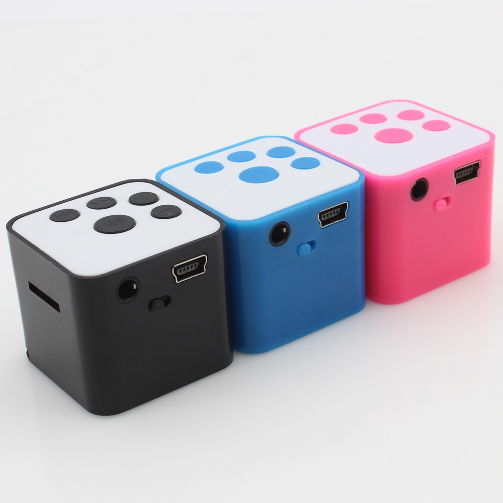 New Arrival USB MP3 Player Square MP3 Media Player Support Micro SD TF Card Music Media #OR54(China (Mainland))
